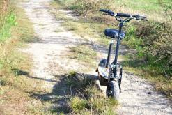 elektro scooter captain 1500w 48V mit Holzbrett -12