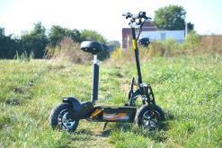 elektro scooter captain 1500w 48V mit Holzbrett -2
