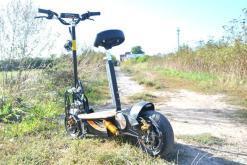 elektro scooter captain 1500w 48V mit Holzbrett -3