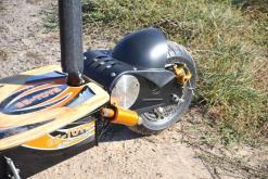 elektro scooter captain 1500w 48V mit Holzbrett -6