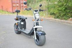 elektro scooter coco bike fat mit strassenzulassung cp01 schwarz -16
