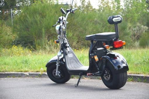 elektro scooter coco bike fat mit strassenzulassung cp01 schwarz -2