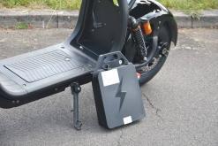elektro scooter coco bike fat mit strassenzulassung cp01 schwarz -4
