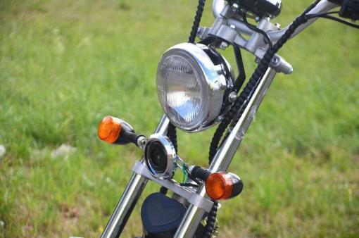 elektro scooter coco bike fat mit strassenzulassung cp01 schwarz -7