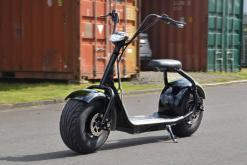 elektro scooter coco bike schwarz chopper -h001 -1