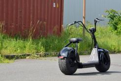 elektro scooter coco bike schwarz chopper -h001 -2