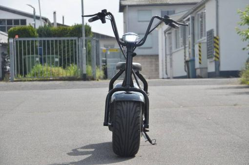 elektro scooter coco bike schwarz chopper -h001 -3