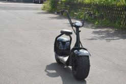 elektro scooter coco bike schwarz chopper -h001 -4