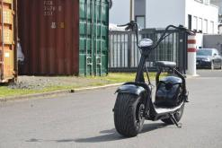 elektro scooter coco bike schwarz chopper -h001 -9