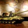 ferngesteuerter panzer deutscher koenigstiger henschelturm pro von heng long - 1