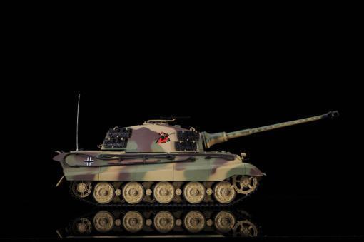 ferngesteuerter panzer deutscher koenigstiger henschelturm pro von heng long - 11