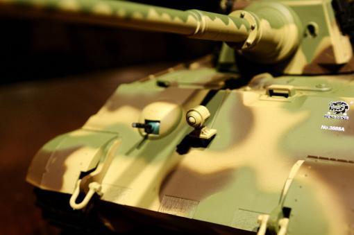 ferngesteuerter panzer deutscher koenigstiger henschelturm pro von heng long - 12