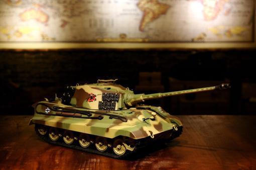 ferngesteuerter panzer deutscher koenigstiger henschelturm pro von heng long - 16