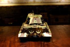 ferngesteuerter panzer deutscher koenigstiger henschelturm pro von heng long - 2