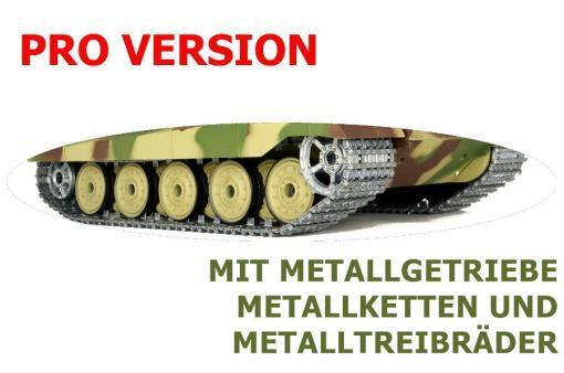 ferngesteuerter panzer deutscher koenigstiger henschelturm pro von heng long - 3