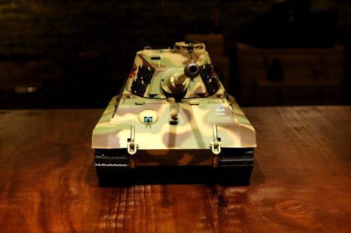 ferngesteuerter panzer deutscher koenigstiger henschelturm pro von heng long - 4