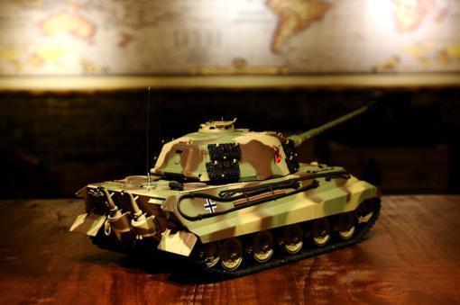 ferngesteuerter panzer deutscher koenigstiger henschelturm pro von heng long - 5