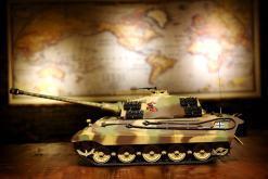 ferngesteuerter panzer deutscher koenigstiger henschelturm pro von heng long - 6