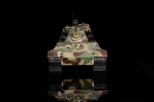 ferngesteuerter panzer deutscher koenigstiger henschelturm pro von heng long - 7