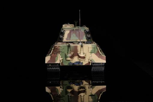 ferngesteuerter panzer deutscher koenigstiger henschelturm pro von heng long - 9