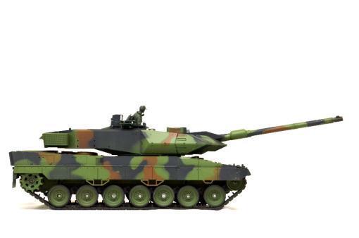 """Ferngesteuerter Panzer mit Schuss """"Deutscher Leopard 2A6"""" Heng Long 1:16 mit Rauch&Sound und Stahlgetriebe -2,4Ghz V6.0 -3"""