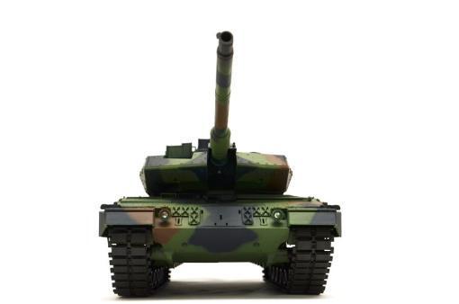"""Ferngesteuerter Panzer mit Schuss """"Deutscher Leopard 2A6"""" Heng Long 1:16 mit Rauch&Sound und Stahlgetriebe -2,4Ghz V6.0 -4"""