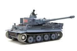 deutscher tiger 1 ferngesteuerter panzer mit schuss rauch und sound mit metallgetriebe und metallkette - pro -2