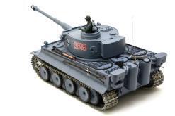 deutscher tiger 1 ferngesteuerter panzer mit schuss rauch und sound mit metallgetriebe und metallkette - pro -9