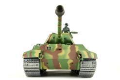 panzer ferngesteuert mit schussfunktion von heng long - deutscher königstiger mit metallgetriebe und metallketten - pro-6