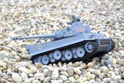 ferngesteuerter panzer schuss heng long tank german tiger 1 upgrade version 6.0 metallgetriebe -10