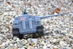 ferngesteuerter panzer schuss heng long tank german tiger 1 upgrade version 6.0 metallgetriebe -8