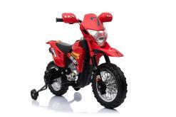 Kindermotorrad elektro Cross rot-2