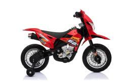 Kindermotorrad elektro Cross rot-3