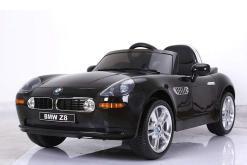 elektro kinderauto lizenziert von bmw z8 oldtimer schwarz - 1