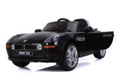 elektro kinderauto lizenziert von bmw z8 oldtimer schwarz - 3
