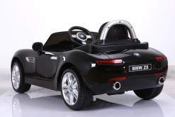elektro kinderauto lizenziert von bmw z8 oldtimer schwarz - 4