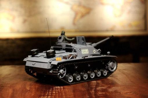 panzer ferngesteuert henglong sturmgeschuetz 3 stug upgrade version 6.0-3