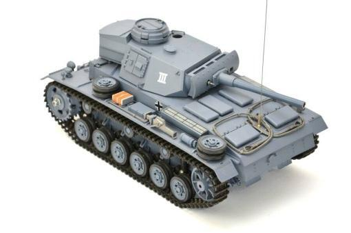 ferngesteuerter panzer mit schussfunktion heng long rauch sound deutscher kampfwagen 3 -10