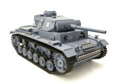 ferngesteuerter panzer mit schussfunktion heng long rauch sound deutscher kampfwagen 3 -11