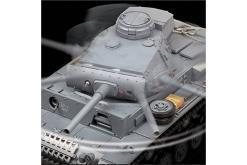 ferngesteuerter panzer mit schussfunktion heng long rauch sound deutscher kampfwagen 3 -12