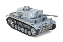 ferngesteuerter panzer mit schussfunktion heng long rauch sound deutscher kampfwagen 3 -3