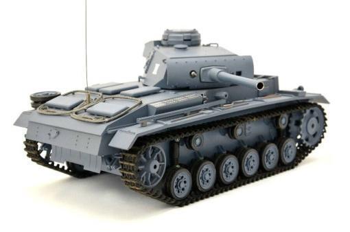 ferngesteuerter panzer mit schussfunktion heng long rauch sound deutscher kampfwagen 3 -5