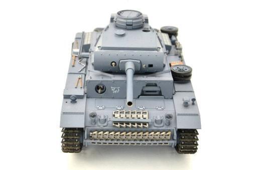 ferngesteuerter panzer mit schussfunktion heng long rauch sound deutscher kampfwagen 3 -6