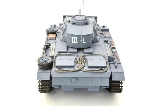 ferngesteuerter panzer mit schussfunktion heng long rauch sound deutscher kampfwagen 3 -7