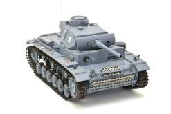 ferngesteuerter panzer mit schussfunktion heng long rauch sound deutscher kampfwagen 3 -8