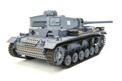 ferngesteuerter panzer mit schussfunktion heng long rauch sound deutscher kampfwagen 3 -9