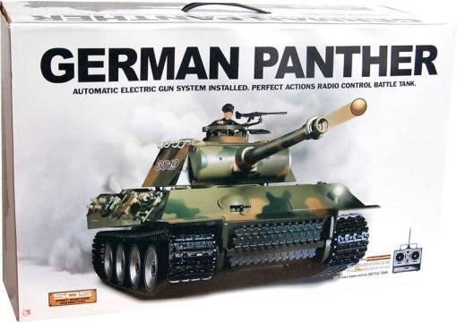 panzer ferngesteuert heng long german panther -6