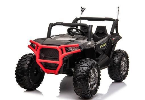 """Kinderfahrzeug - Elektro Auto """"Buggy 999"""" - 12V10AH Akku,4 Motoren- 2,4Ghz, Allrad+2 Sitzer+MP3+Ledersitz+EVA"""