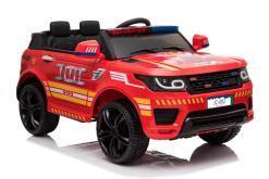 """Kinderfahrzeug - Elektro Auto """"Feuerwehr RR002"""" - 12V7AH Akku,2 Motoren- 2,4Ghz Fernsteuerung, MP3+Sirene-1"""
