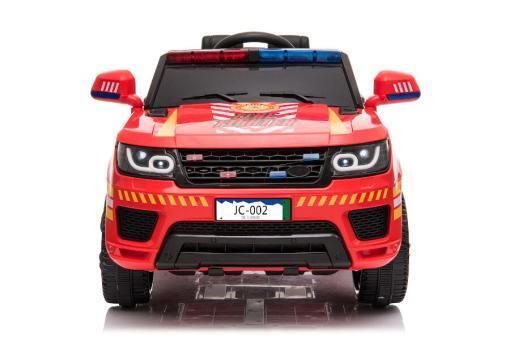 """Kinderfahrzeug - Elektro Auto """"Feuerwehr RR002"""" - 12V7AH Akku,2 Motoren- 2,4Ghz Fernsteuerung, MP3+Sirene-2"""